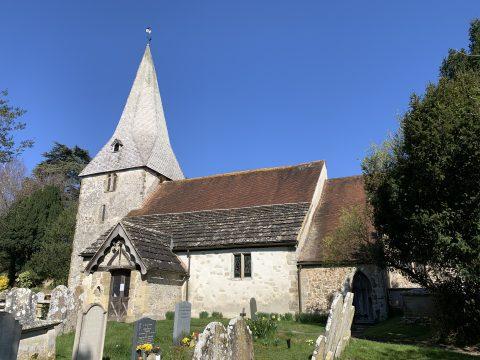 St Jon the Evangelist church Bury