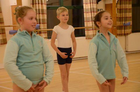 Bury Village Hall ballet